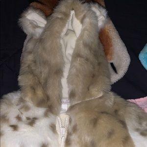 Baby hooded onesie